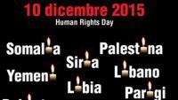 Il 10 dicembre accendi anche tu una luce per i diritti umani!